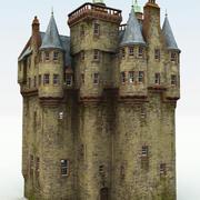 Castello scozzese 3d model