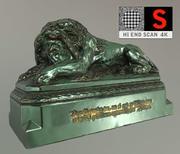 Lion statue vienna 3d model