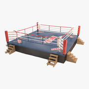 Ring bokserski 3d model
