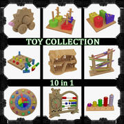 Toy set 10 in 1 3d model