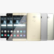 Huawei Mate S Alle Farben 3d model