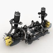 Front suspension 3d model