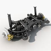 Rear suspension 3d model