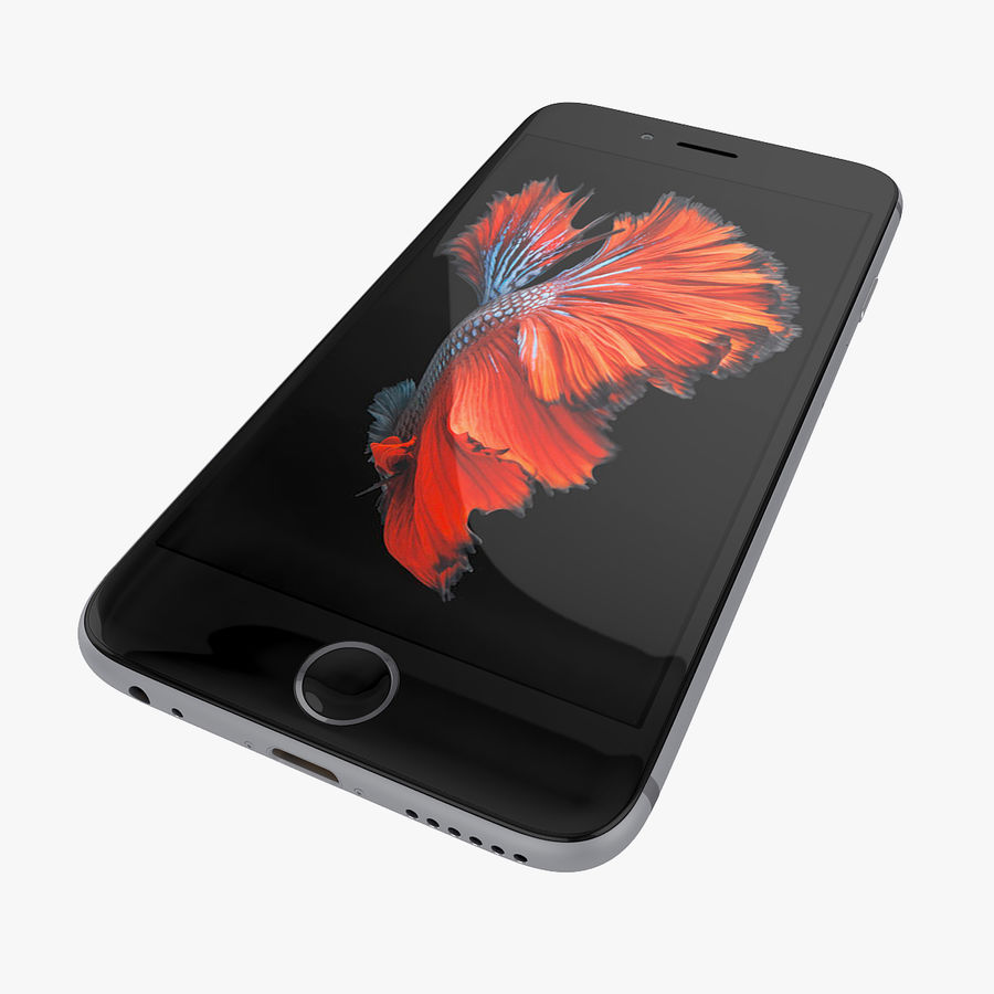 Apple iPhone 6s 및 iPhone 6s plus 2015 royalty-free 3d model - Preview no. 18
