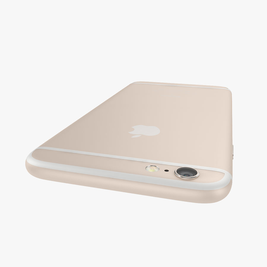 Apple iPhone 6s e iPhone 6s plus 2015 royalty-free 3d model - Preview no. 46