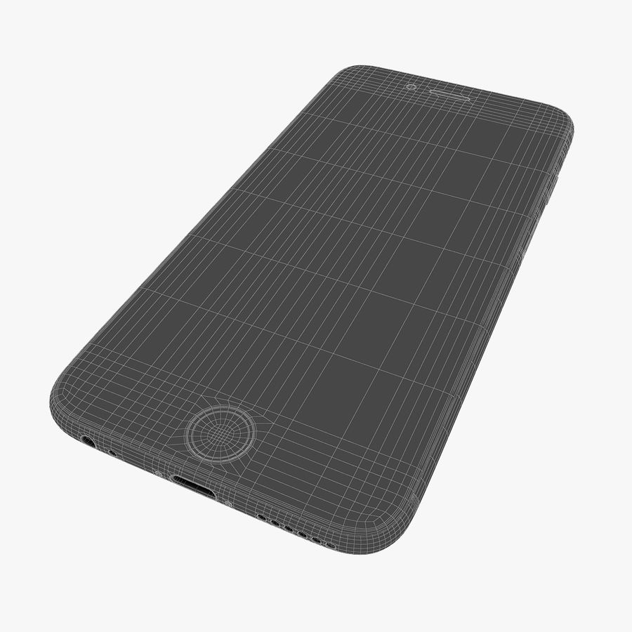 Apple iPhone 6s e iPhone 6s plus 2015 royalty-free 3d model - Preview no. 51