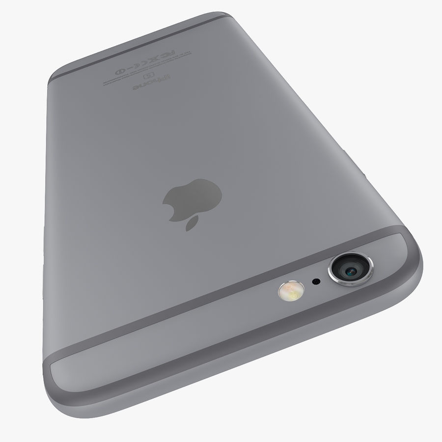 Apple iPhone 6s 및 iPhone 6s plus 2015 royalty-free 3d model - Preview no. 22