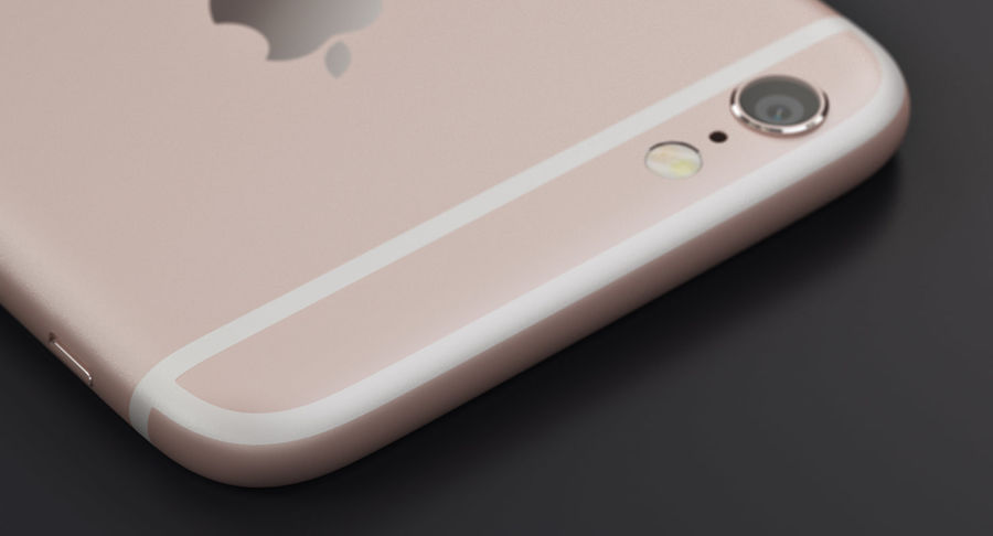 Apple iPhone 6s 및 iPhone 6s plus 2015 royalty-free 3d model - Preview no. 3