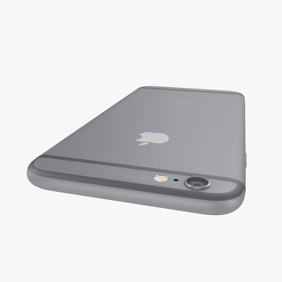 Apple iPhone 6s 및 iPhone 6s plus 2015 royalty-free 3d model - Preview no. 32