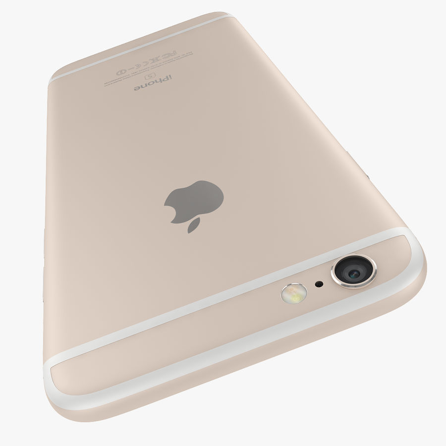 Apple iPhone 6s 및 iPhone 6s plus 2015 royalty-free 3d model - Preview no. 41