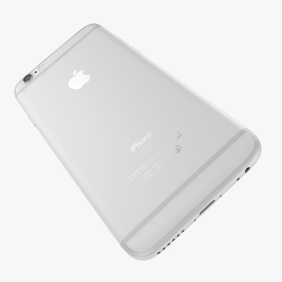 Apple iPhone 6s 및 iPhone 6s plus 2015 royalty-free 3d model - Preview no. 63