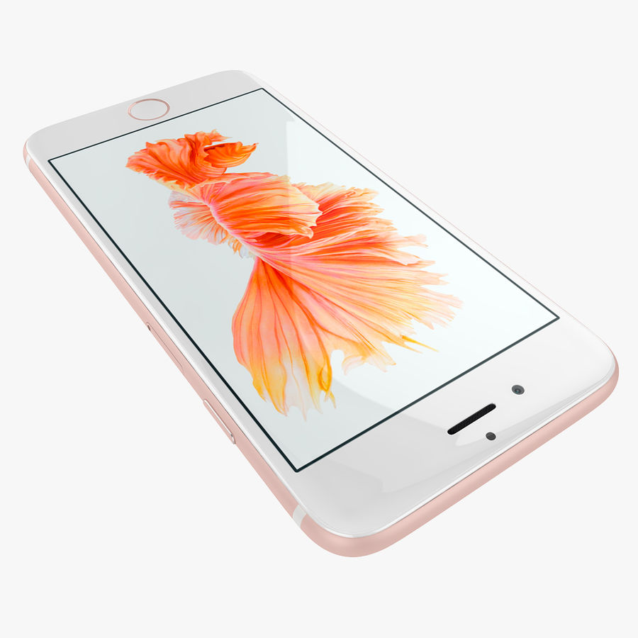 Apple iPhone 6s 및 iPhone 6s plus 2015 royalty-free 3d model - Preview no. 24
