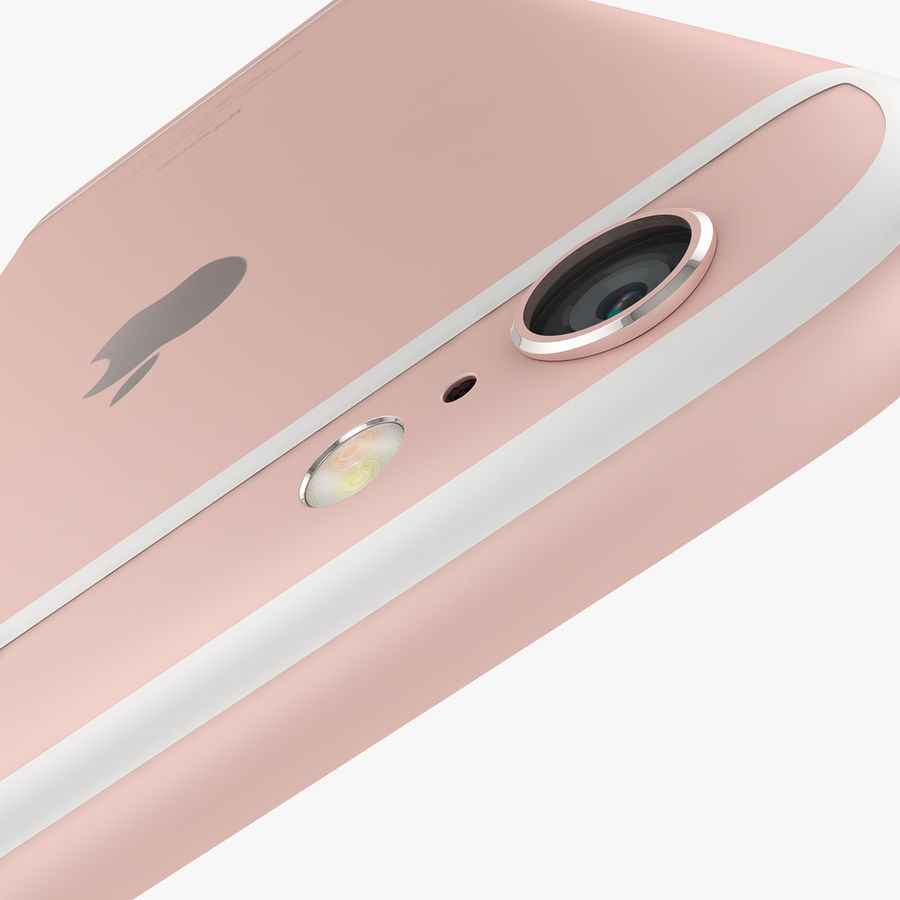 Apple iPhone 6s e iPhone 6s plus 2015 royalty-free 3d model - Preview no. 28