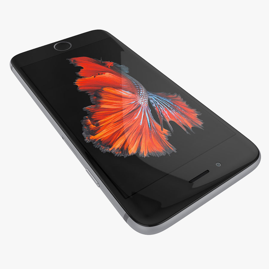 Apple iPhone 6s 및 iPhone 6s plus 2015 royalty-free 3d model - Preview no. 19