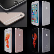 Apple iPhone 6s y iPhone 6s plus 2015 modelo 3d
