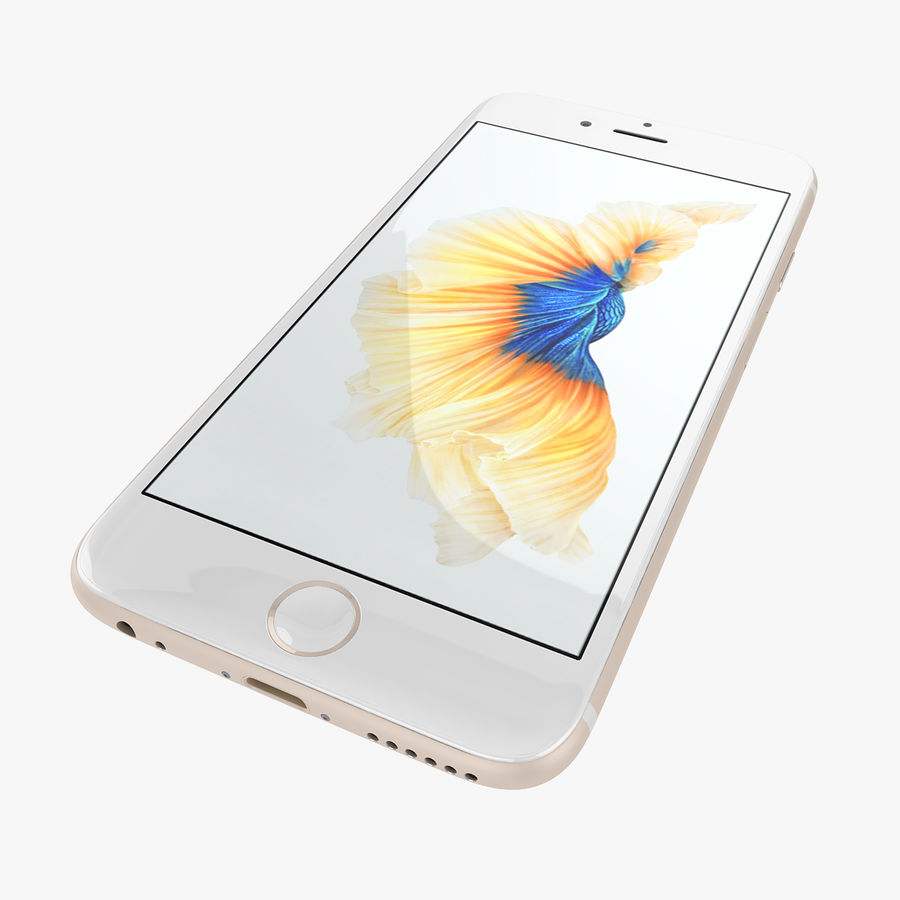 Apple iPhone 6s e iPhone 6s plus 2015 royalty-free 3d model - Preview no. 31
