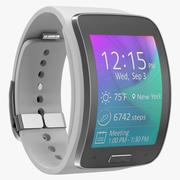Samsung Gear S White 3D Model 3d model