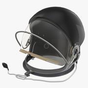 US Advanced Crew Escape Helmet Rigged 3d model