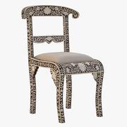 骨嵌椅 3d model