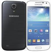 Samsung Galaxy S4 mini I9195Iホワイトフロストアンドブラックミスト 3d model