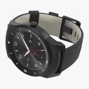 LG G Watch R 3 3D Model 3d model