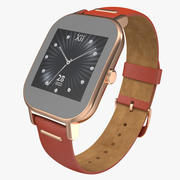 Smartwatch Asus ZenWatch 2 3D Model 3d model