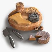 현실적인 치즈 선택 3d model
