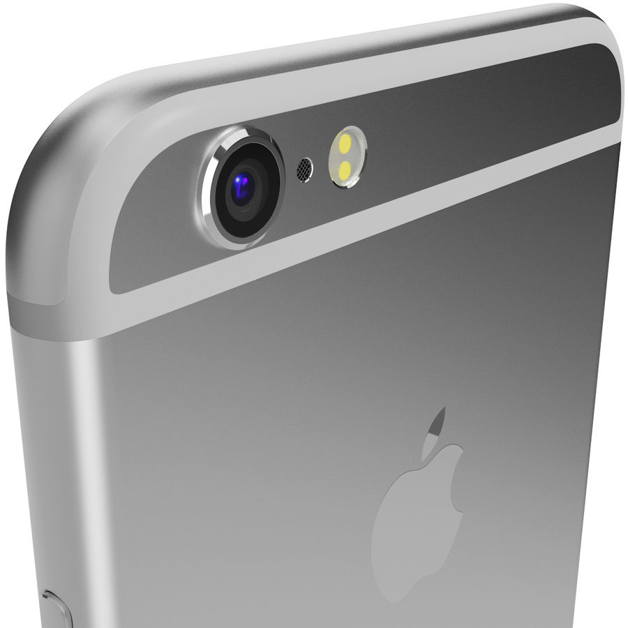 Apple iPhone 6s 모든 색상 royalty-free 3d model - Preview no. 65