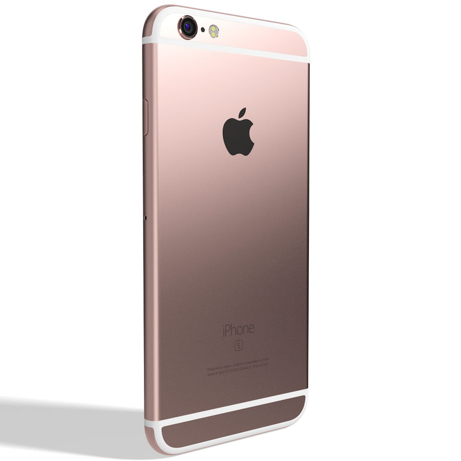 Apple iPhone 6s 모든 색상 royalty-free 3d model - Preview no. 45