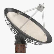 Radio Telescope 3D 모델 3d model