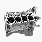 엔진 블록 3d model