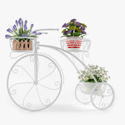 Outdoor Plant Stand 3d model