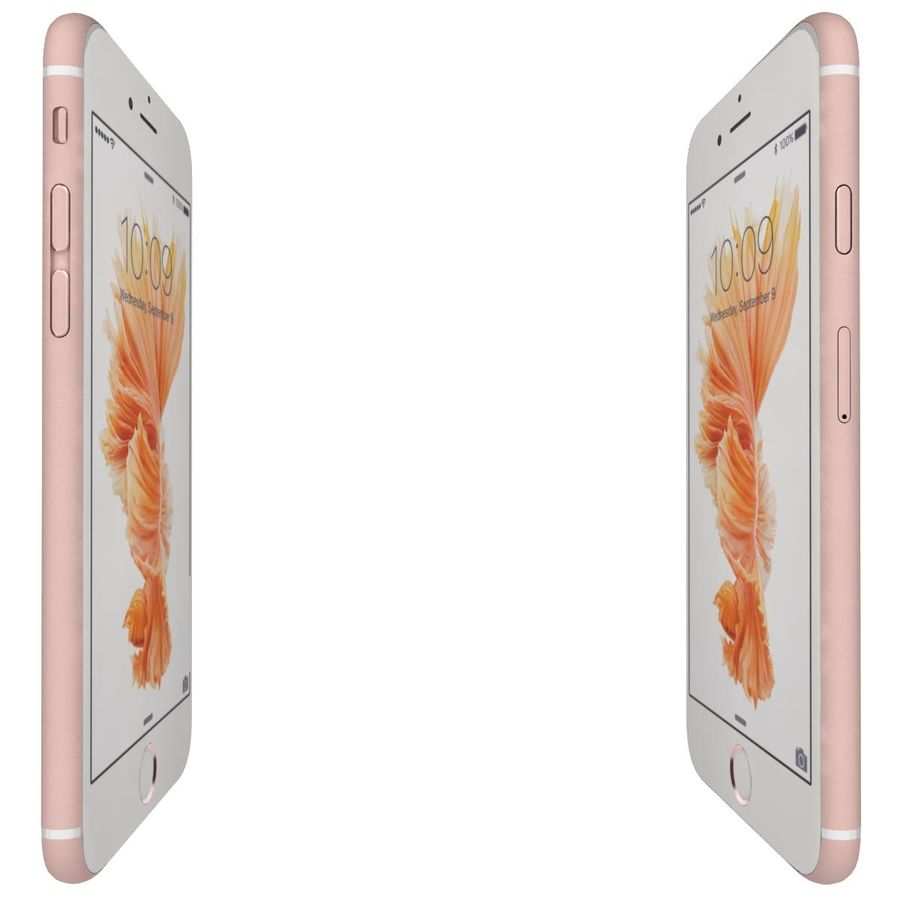 Apple iPhone 6s 모든 색상 royalty-free 3d model - Preview no. 54