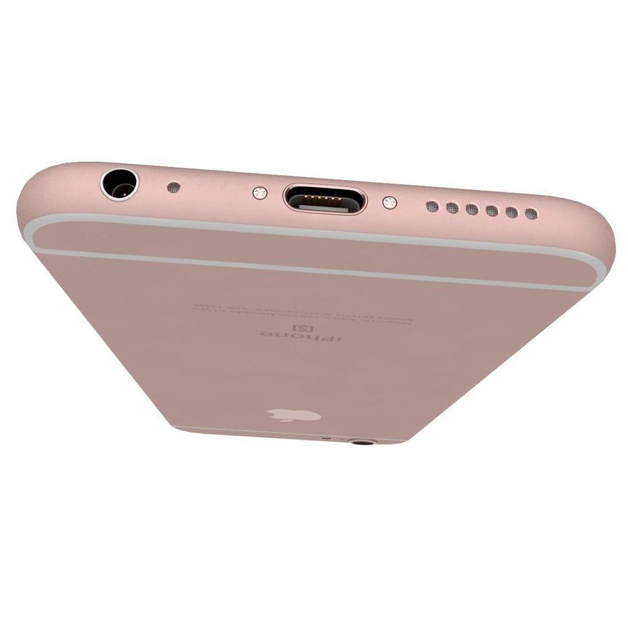 Apple iPhone 6s 모든 색상 royalty-free 3d model - Preview no. 58