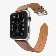 Apple Watch Hermes 42mm Stainless Steel Case 2 3d model