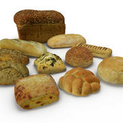 Bread Collection 3d model