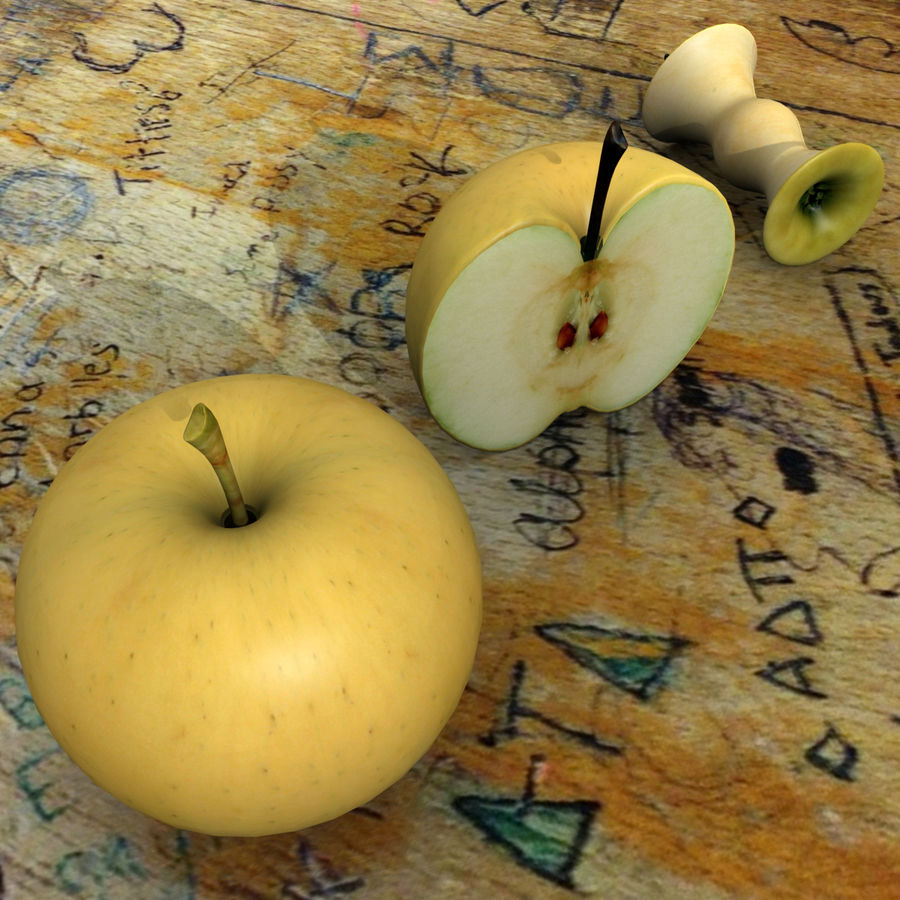 Fruit Collection royalty-free 3d model - Preview no. 3