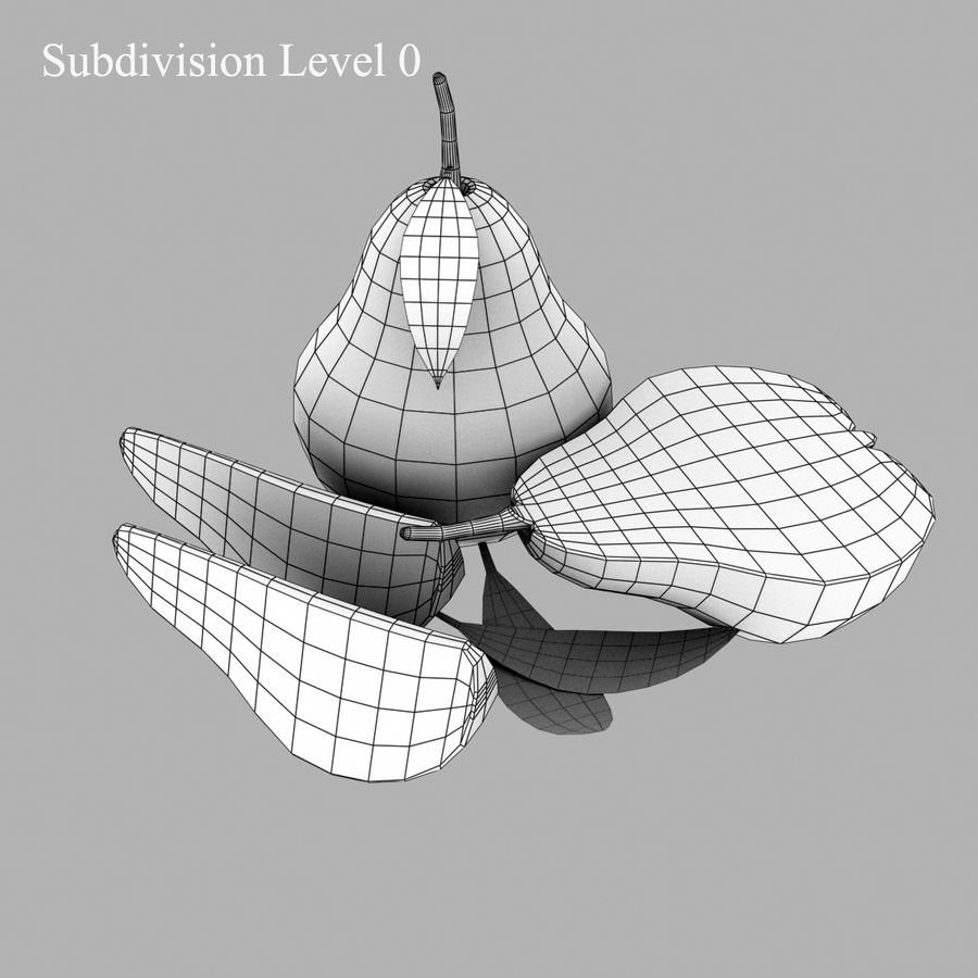 Fruit Collection royalty-free 3d model - Preview no. 38