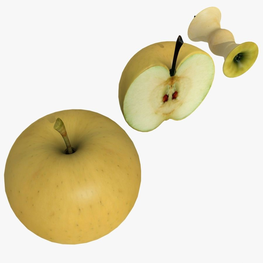 Fruit Collection royalty-free 3d model - Preview no. 2