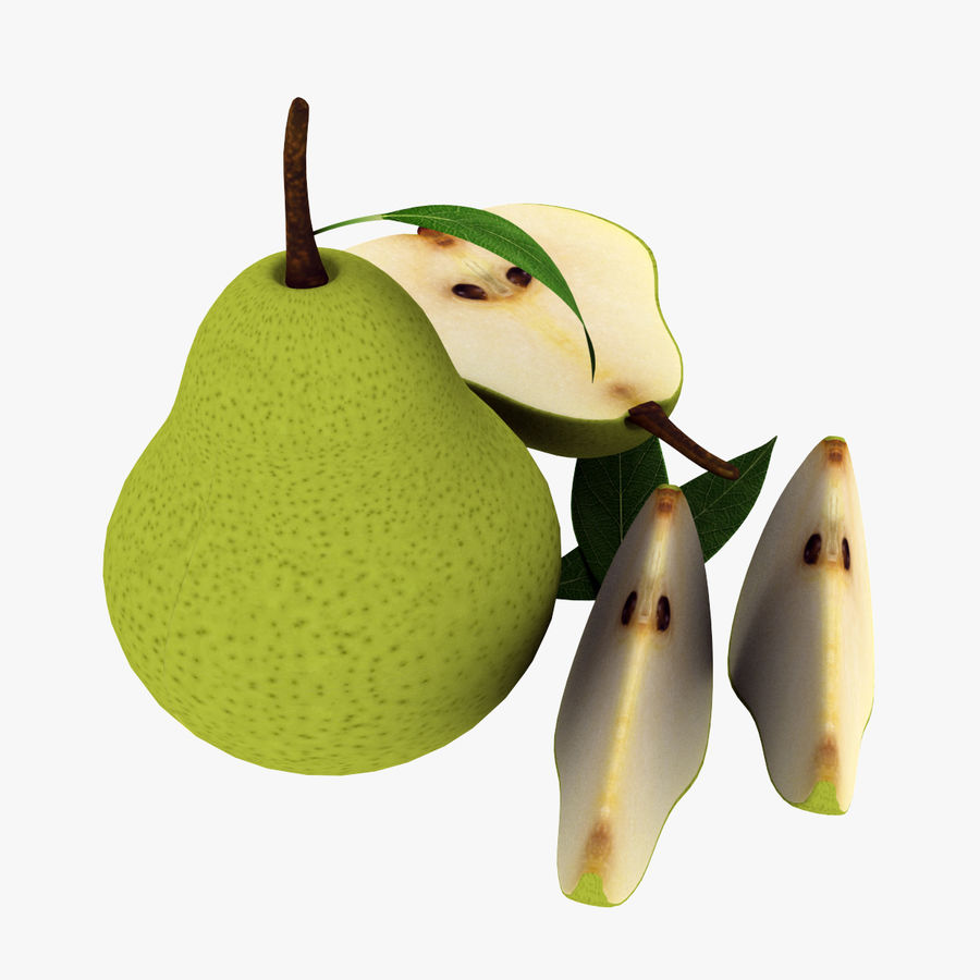 Fruit Collection royalty-free 3d model - Preview no. 36