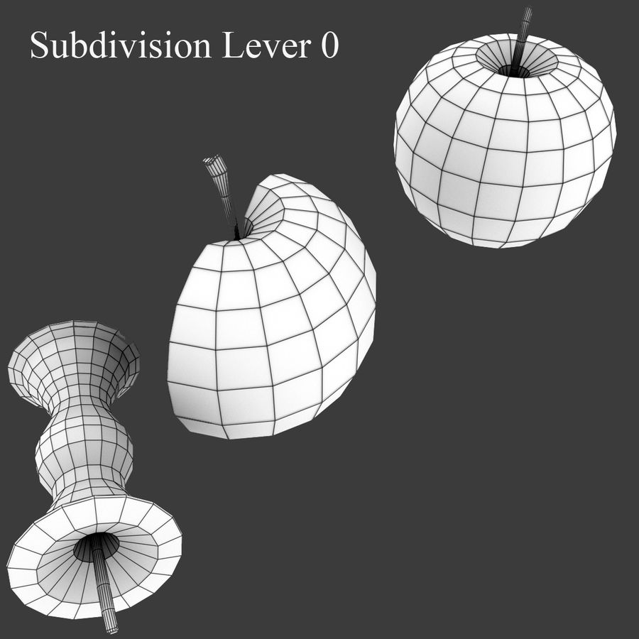 Fruit Collection royalty-free 3d model - Preview no. 8