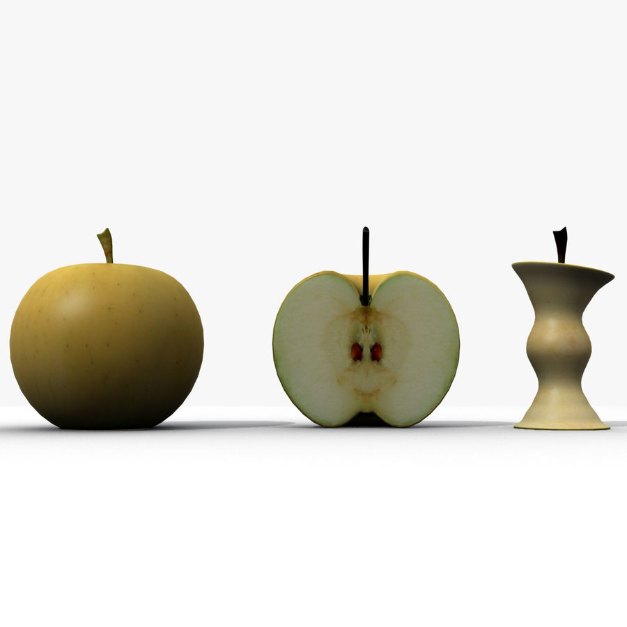 Fruit Collection royalty-free 3d model - Preview no. 4
