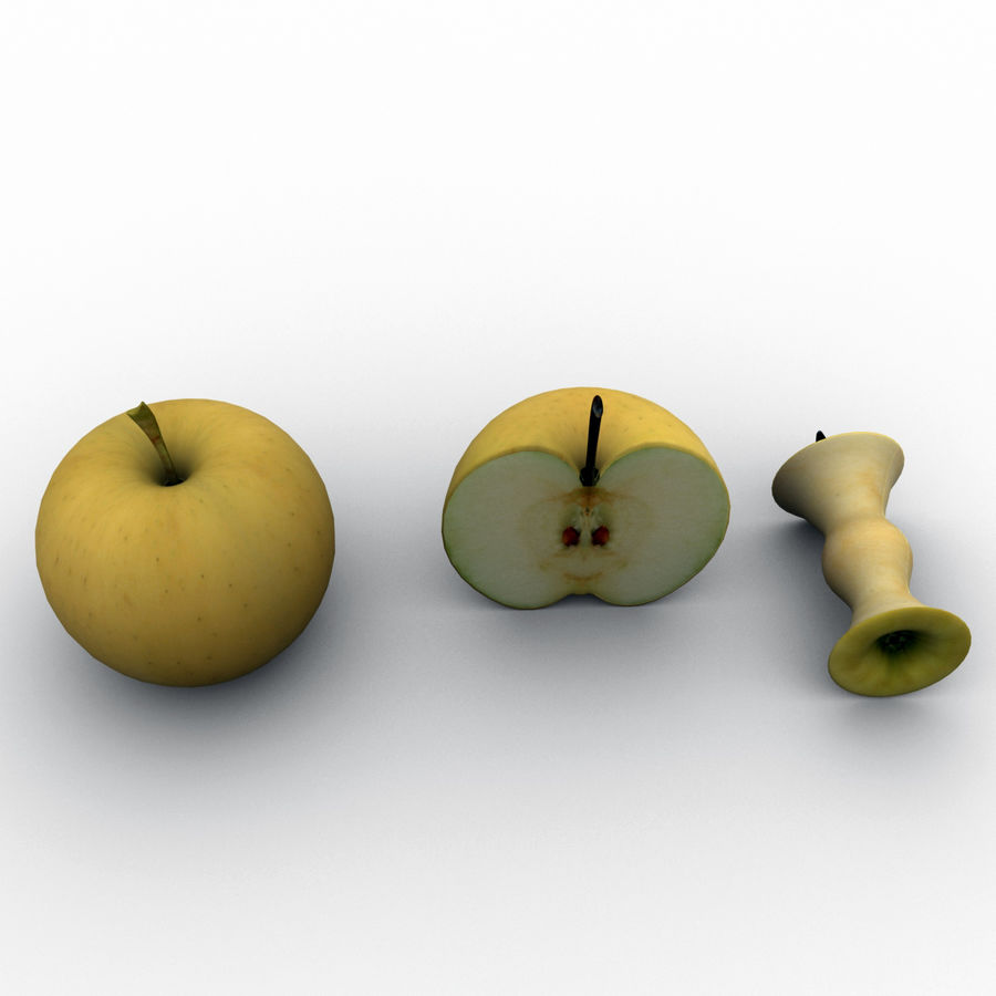 Fruit Collection royalty-free 3d model - Preview no. 5