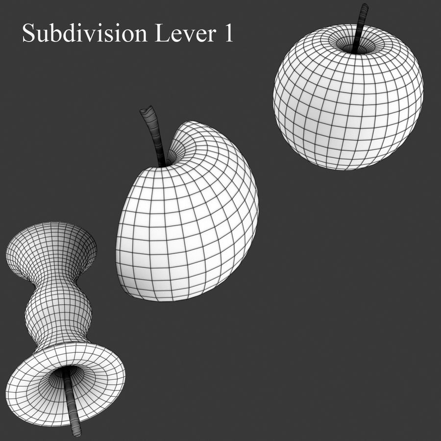 Fruit Collection royalty-free 3d model - Preview no. 9