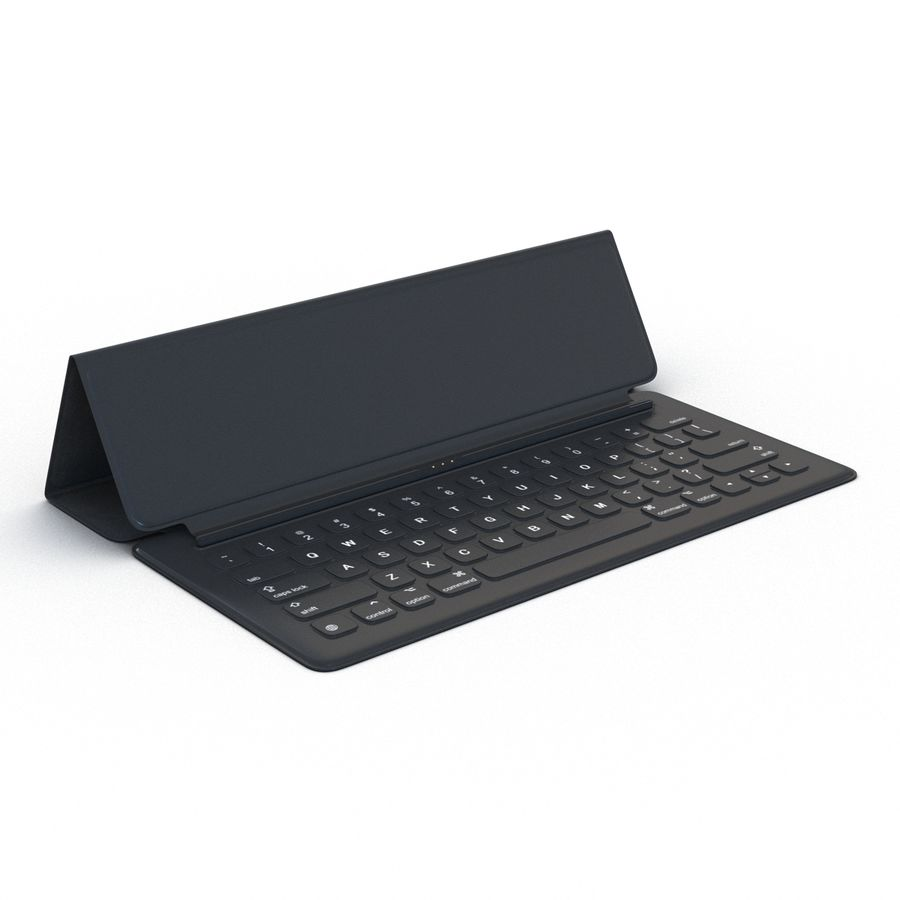 Ipad Pro 및 Apple Smart Keyboard royalty-free 3d model - Preview no. 16