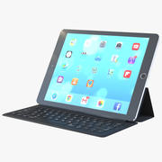 Ipad ProおよびApple Smart Keyboard 3d model