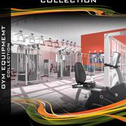 Gymutrustningssamling 3d model