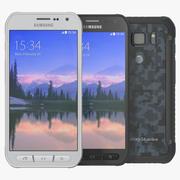 Samsung Galaxy S6 Active Set 3d model