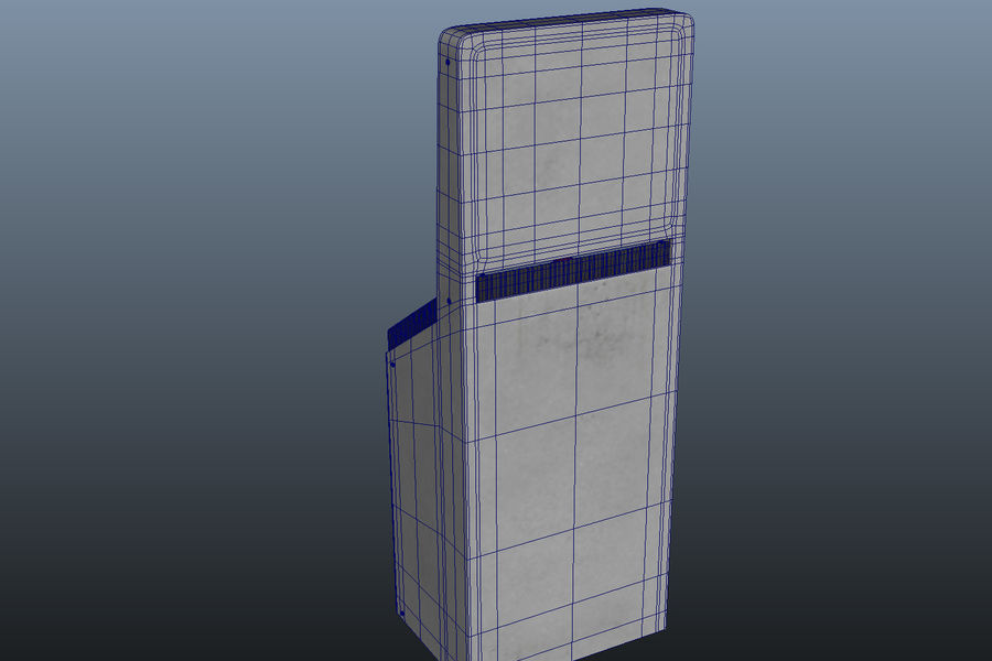 computer control station royalty-free 3d model - Preview no. 9
