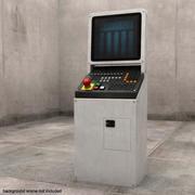 电脑控制站 3d model